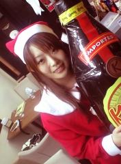 サンタさんだ。